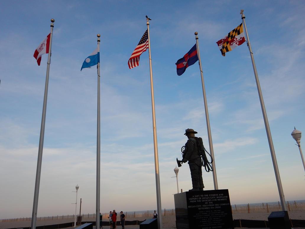 Ocean City September 11th Memorial by rlkitterman