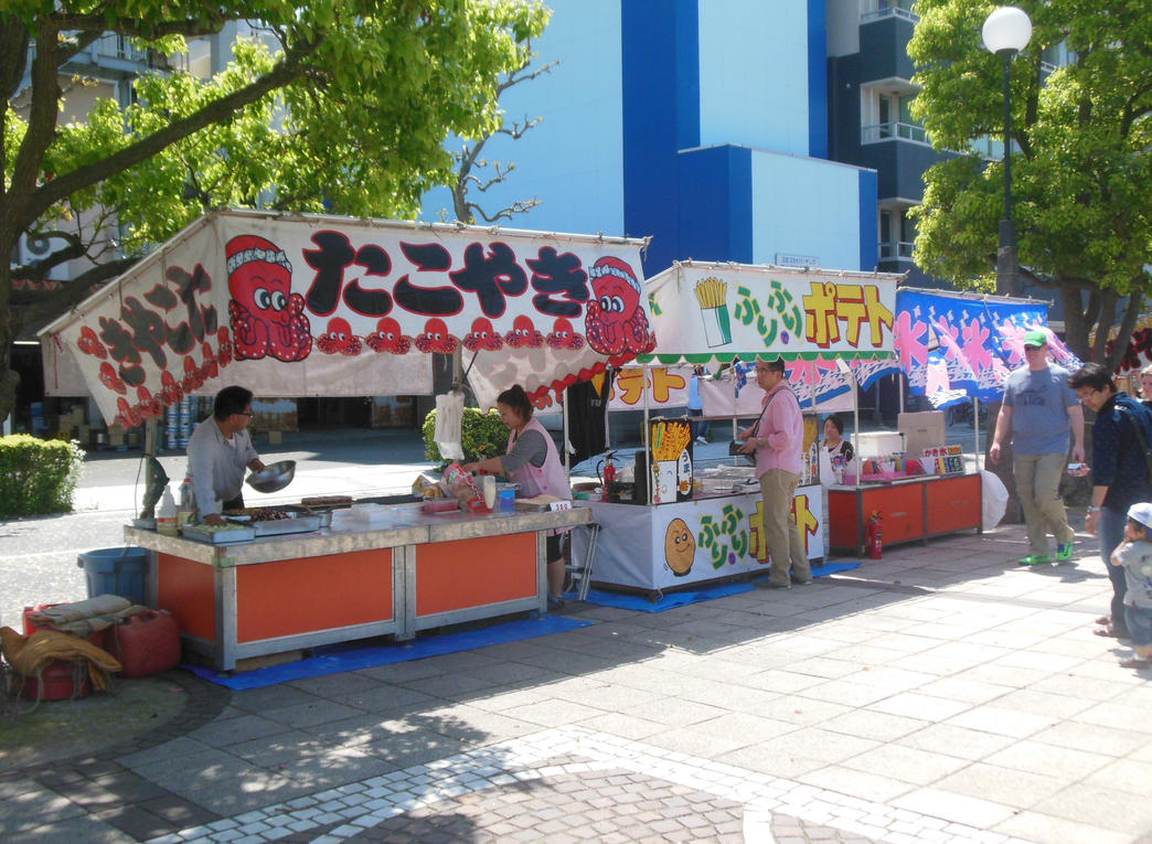 Street Food in Yokosuka by rlkitterman