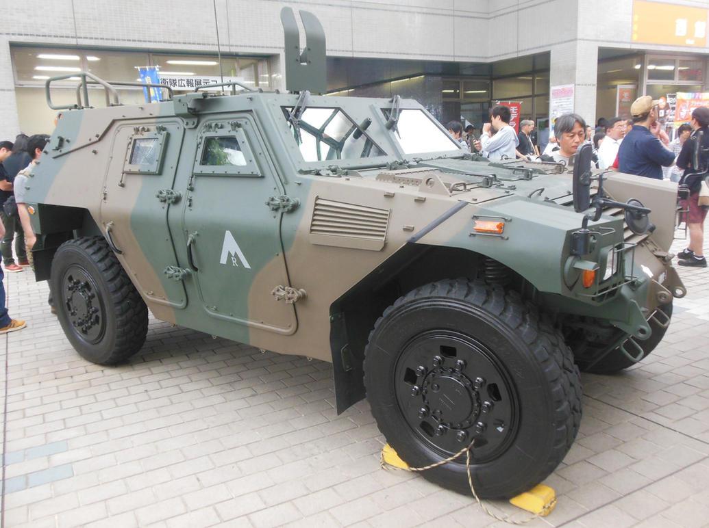 JGSDF Komatsu KU50W Light Armored Vehicle By Rlkitterman ...