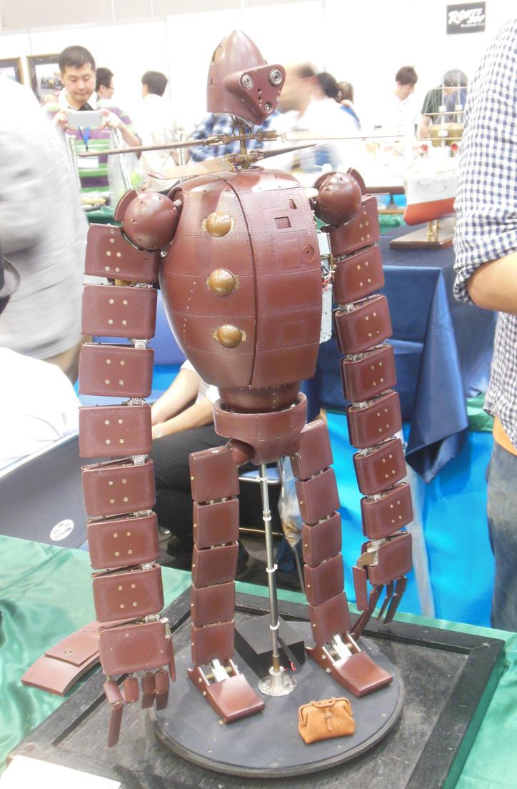 Laputa Robot Helicopter by rlkitterman