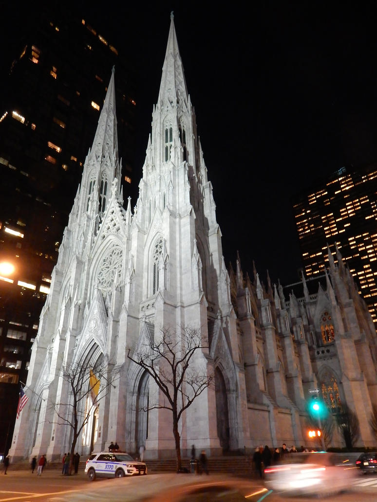 St. Patrick's Cathedral in Midtown by rlkitterman