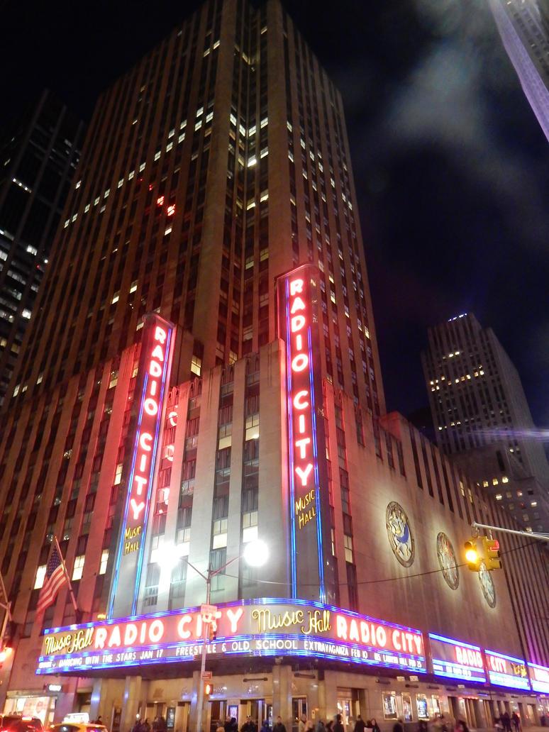 Radio City Music Hall by rlkitterman