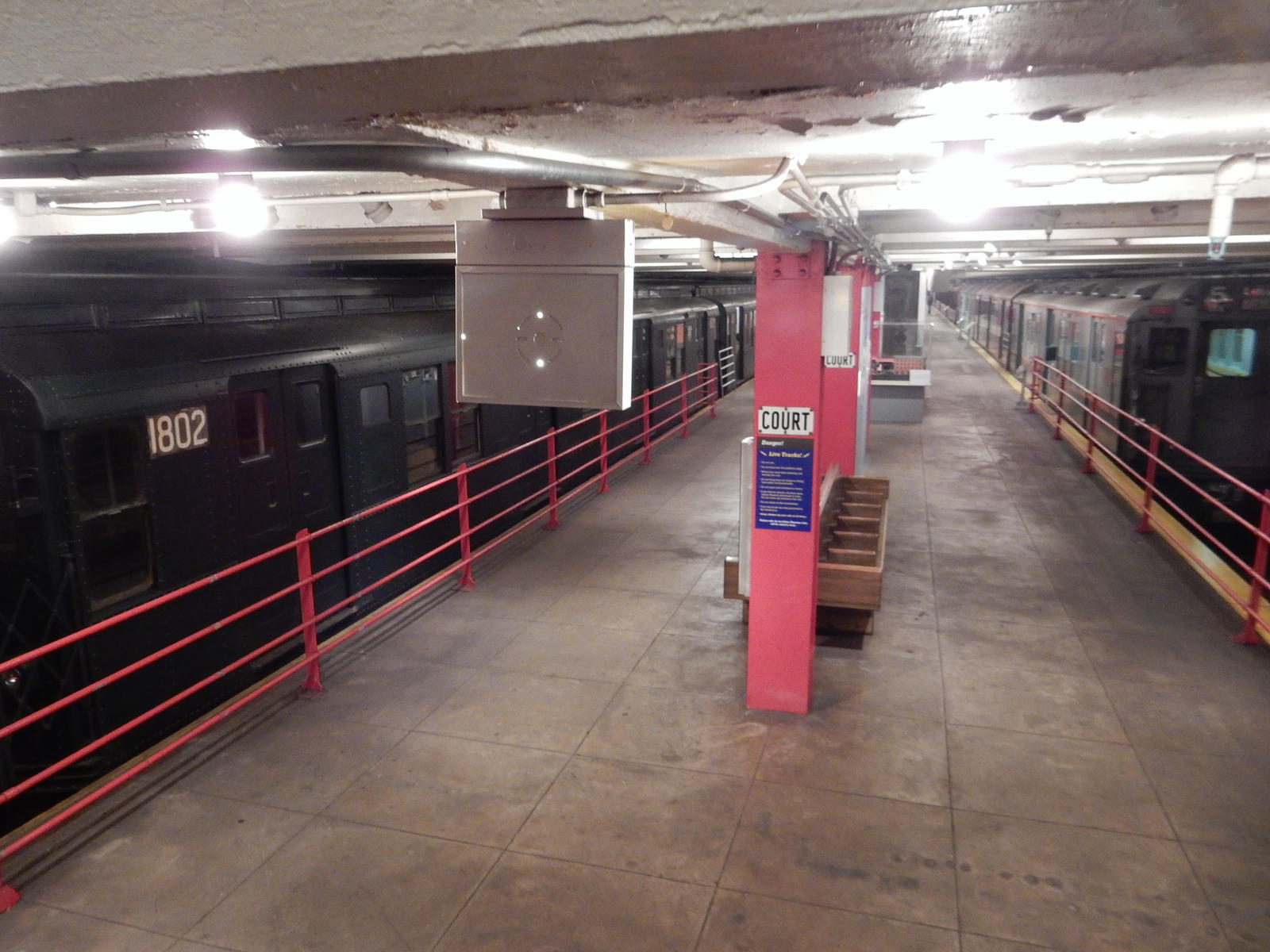 New york transit museum at court street station by for Ny transit museum store