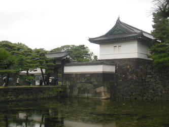 Tokyo Imperial Palace Kikyomon by rlkitterman