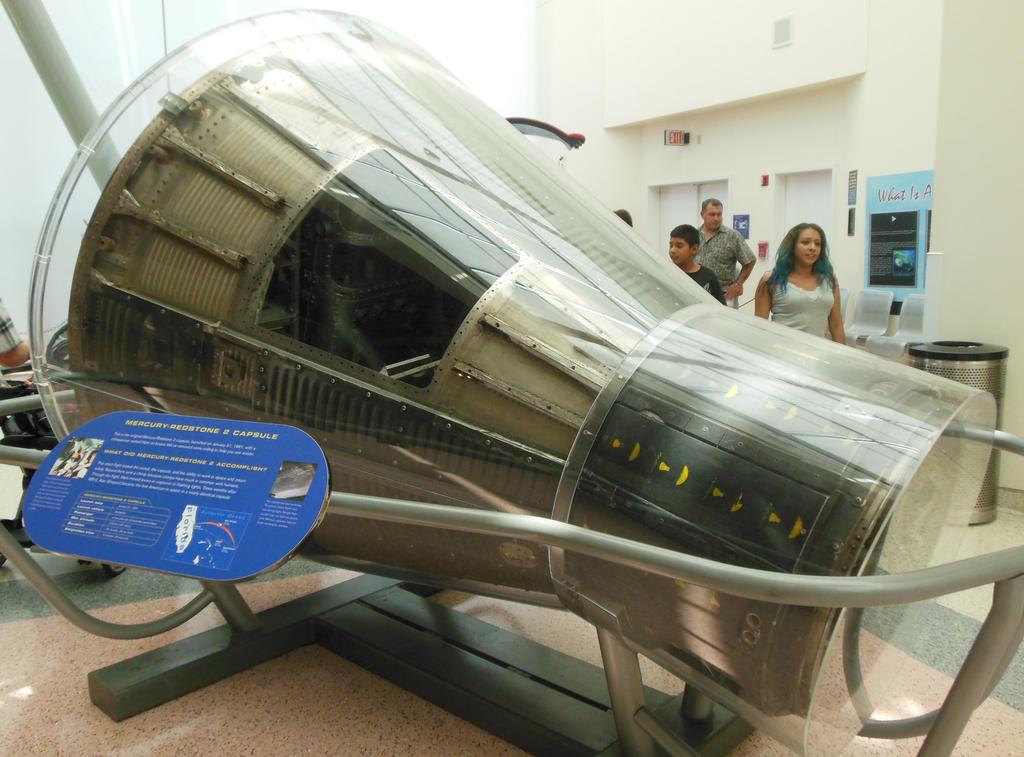 Chimpanzee-Piloted Mercury-Redstone 2 Capsule by rlkitterman