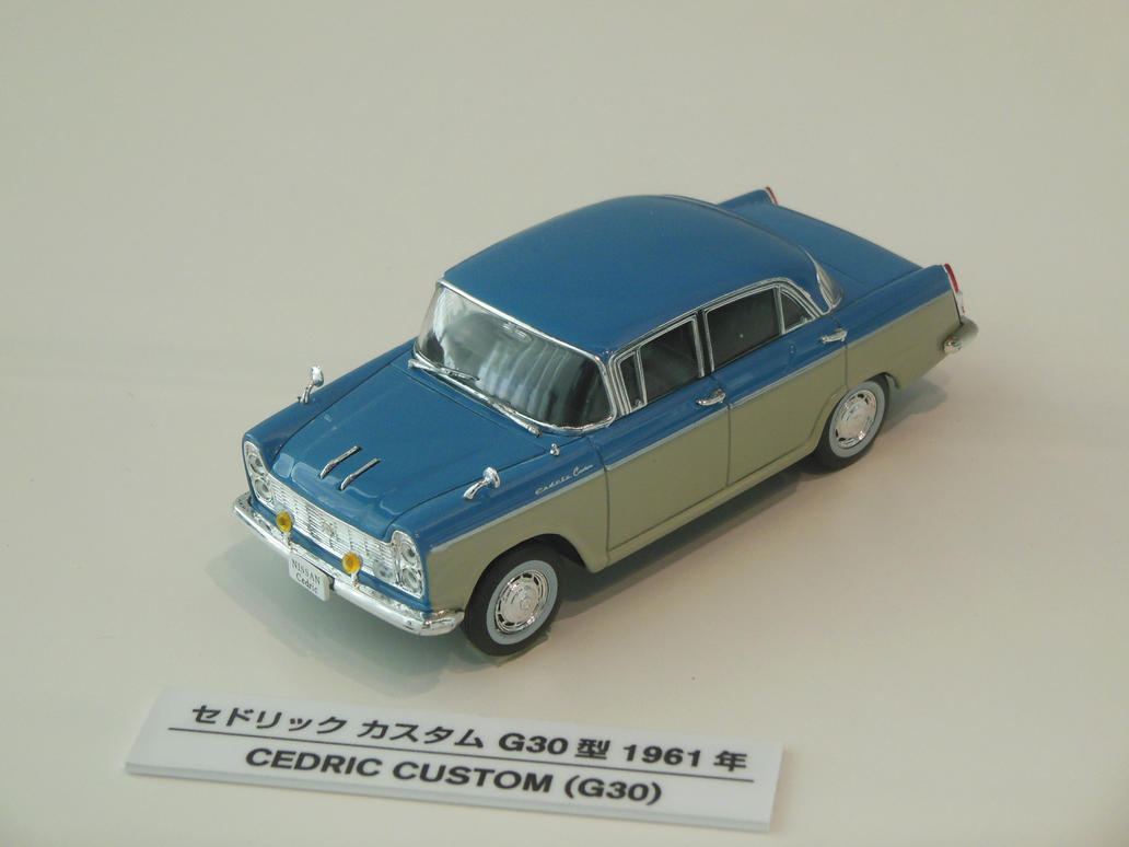 Model 1961 Nissan Cedric Custom by rlkitterman