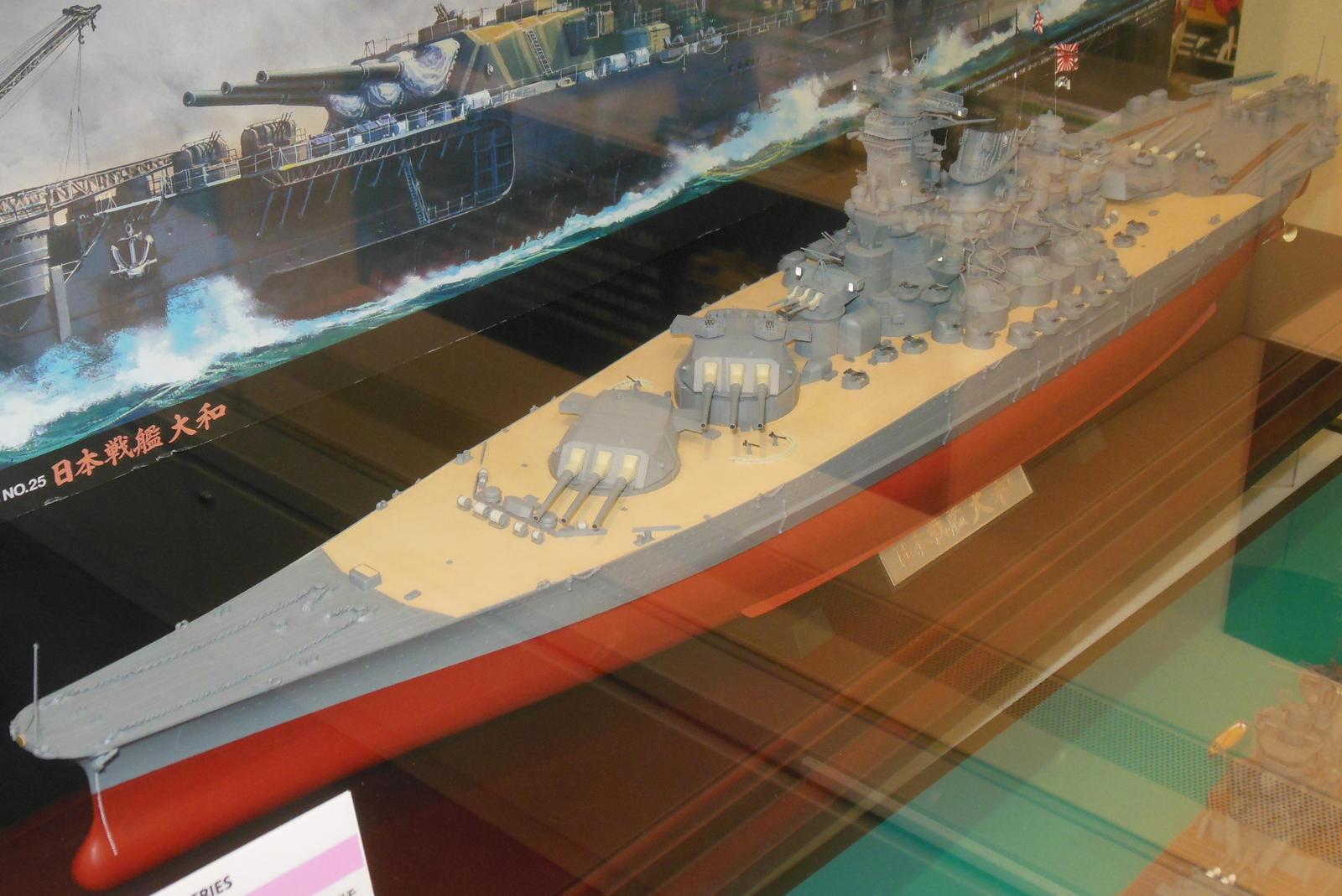 Tamiya 1/350 HIJMS Yamato by rlkitterman