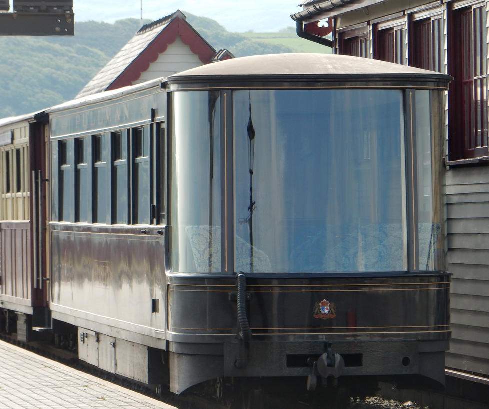 WHR 2100 Glaslyn at Porthmadog Signal Box by rlkitterman