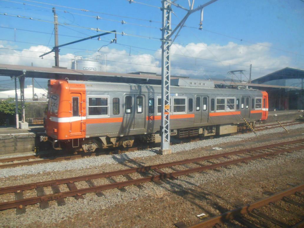 Gakunan 7003 at Yoshiwara Station by rlkitterman