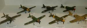 WWII Regia Aeronautica Fighters