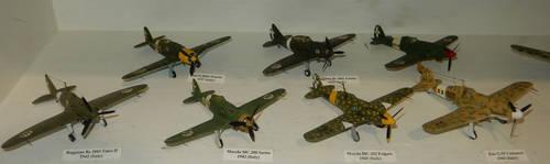 WWII Regia Aeronautica Fighters by rlkitterman