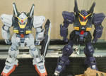 Zeta AEUG and Titans RX-178 Gundam Mk-II Suits by rlkitterman