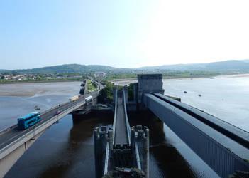 Conwy Bridges by rlkitterman
