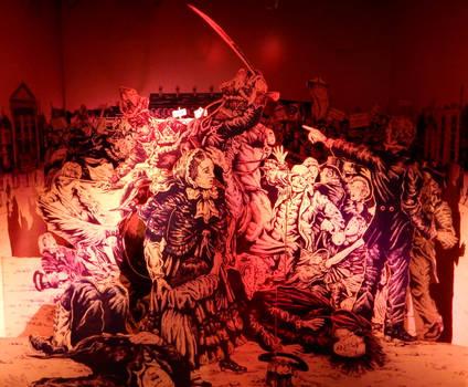 Peterloo Massacre Diorama
