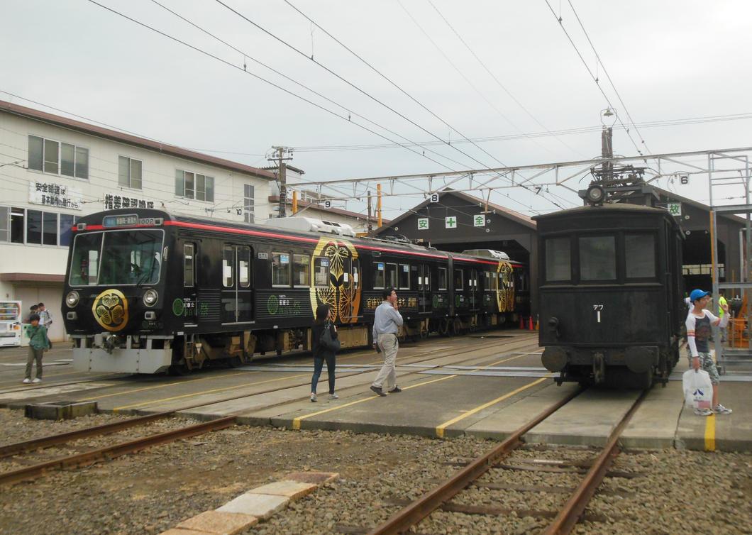 Tokugawa Ieyasu Train and Defu-1 at Naganuma by rlkitterman