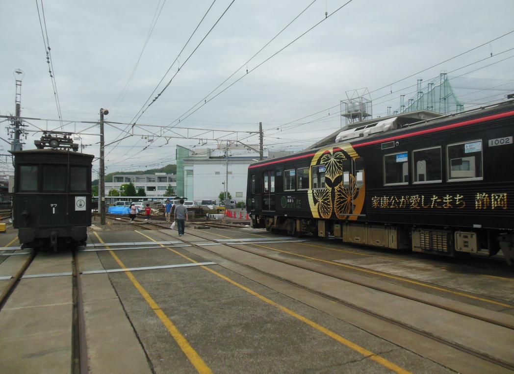 Defu-1 and Tokugawa Ieyasu Train by rlkitterman