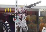 Unicorn Gundam Destroy Mode Support Fullarmor by rlkitterman