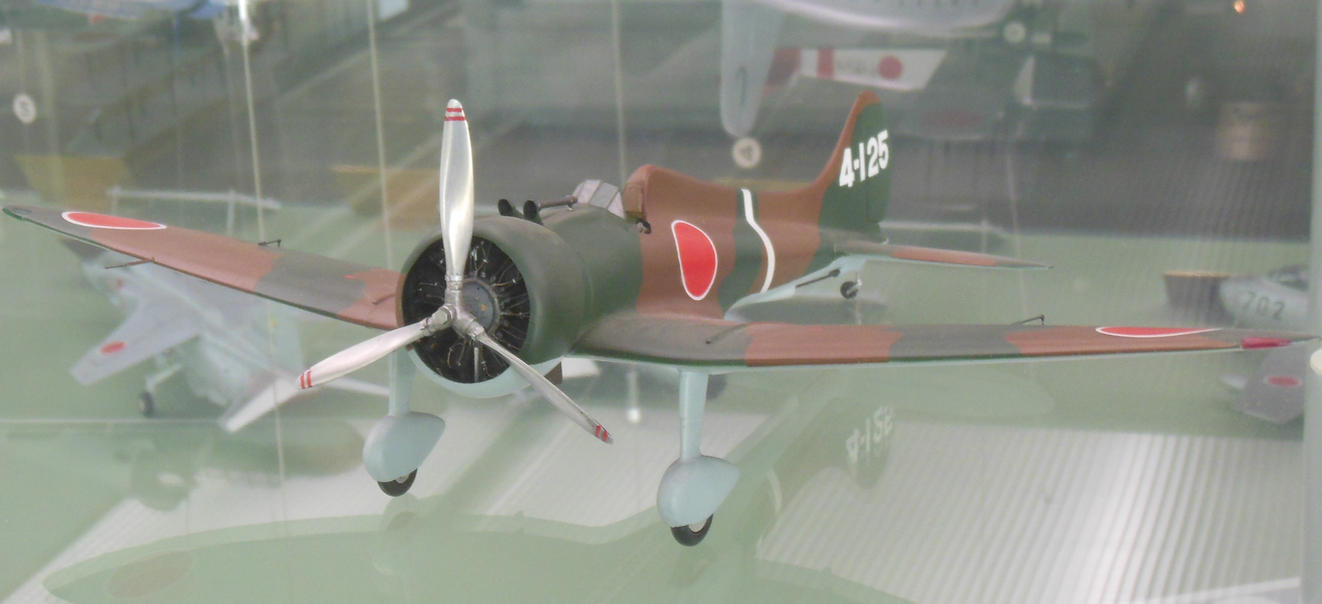 Ijn 13th naval air corps mitsubishi a5m 4 125 by for Chambre a air 13 5 00 6