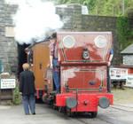 Talyllyn's Half-Past-Four Train Arrives at Tywyn