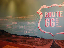 Route 66 Exhibit - The Road and the Romance by rlkitterman