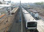 Joban Line E531 Train K465 Leaves Ueno Station