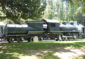 Southern Pacific S-12 No. 1273 in Griffith Park by rlkitterman
