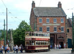 Sunderland Corp Tram 16 on Edwardian High Street