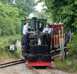 Chaloner and PCA's Train Enters Stonehenge Works