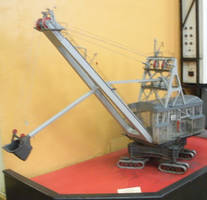 Model Soviet Excavator by rlkitterman