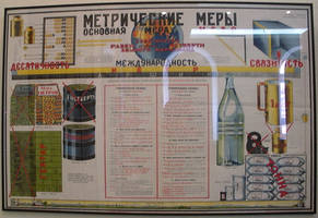 Metric System at Moscow State Polytechnic Museum by rlkitterman