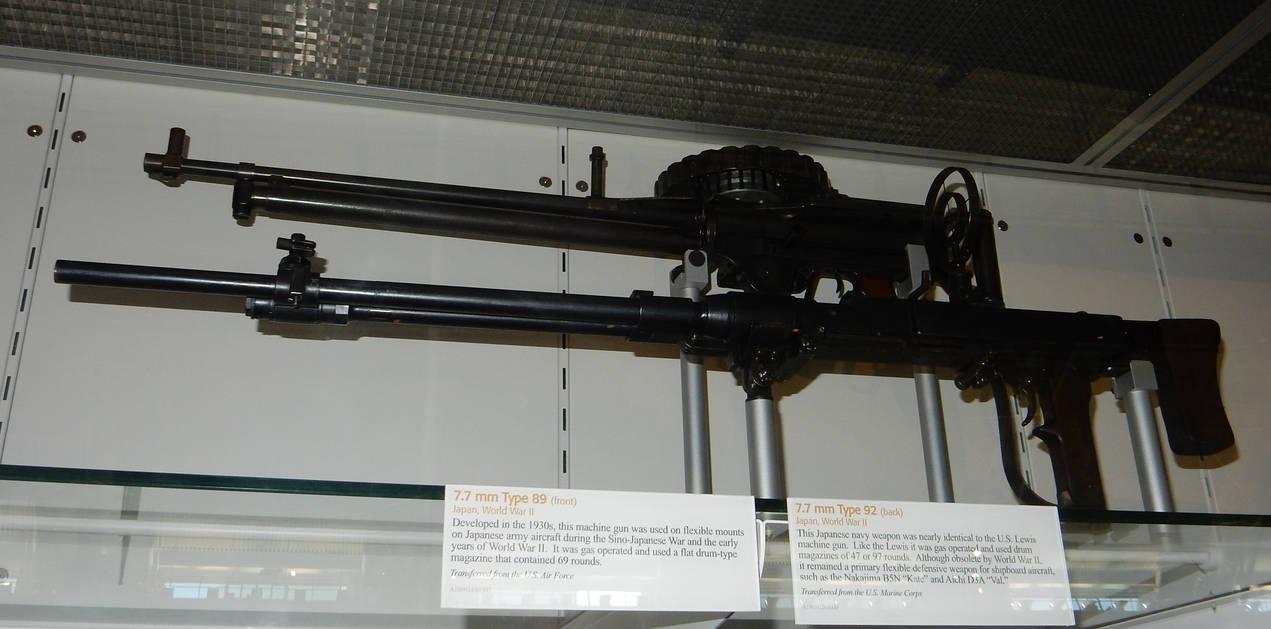 IJA Type 89 and IJN Type 92 Aircraft Machine Guns by
