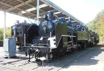 JNR C11.1, E10.2 and Kumoha-40054 at Oume