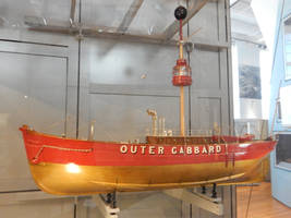 Model Outer Gabbard Lightship at Discovery Museum by rlkitterman
