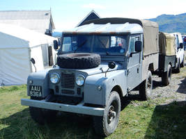 Land Rover AAU-836A at Barmouth Ferry by rlkitterman