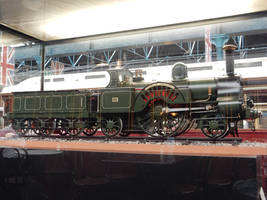 Lady of the Lake Model in NRM Station Hall by rlkitterman