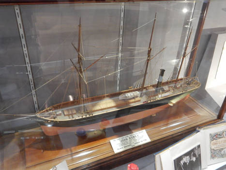 SS John Bowes at the South Shields Museum