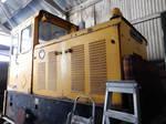 RNAD Baguley-Drewry 3751 in Amberley Workshop 1