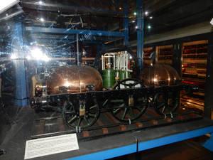 1845 Parsey Pneumatic Locomotive Concept Model
