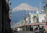 Fuji City in the Winter
