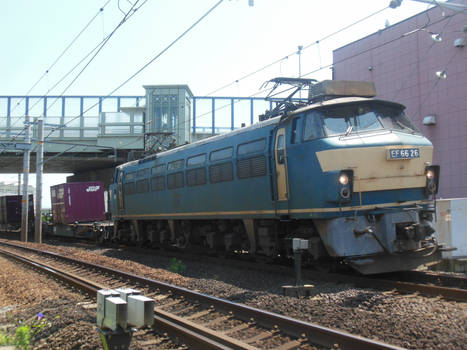 JRF EF66.26 Tokaido Intermodal at Shimizu