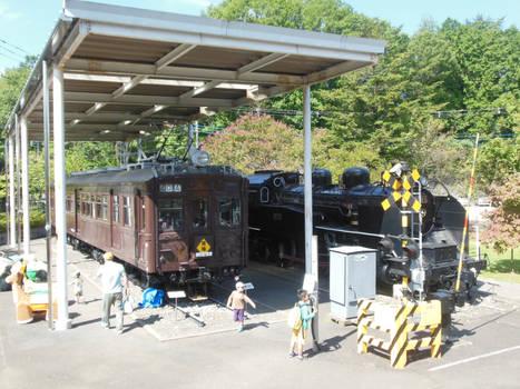 JGR C11.1 and Kumoha-40054 at Ome Railway Park