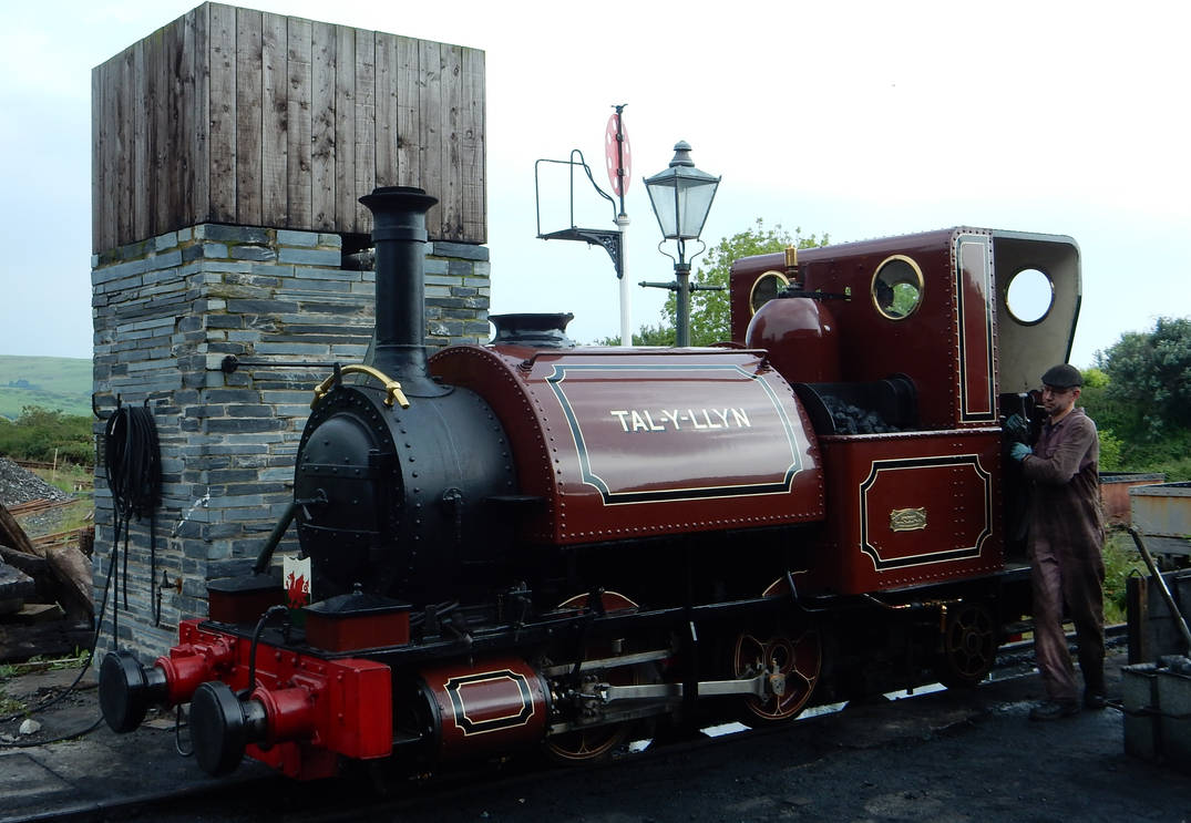 Talyllyn at Tywyn Wharf for St Davids Day