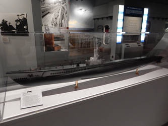 USS Redfish SS-395 at the Mariners Museum 2 by rlkitterman
