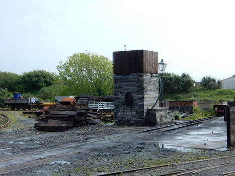 Tywyn Wharf Water Tower and Coal Dock DSCN1231