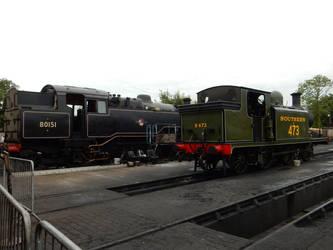 BR 4MT 80151 and SR E4 B473 Birch Grove