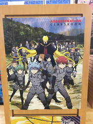 Assassination Classroom Poster at Victory Comics by rlkitterman