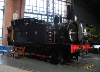 GER Buckjumper 87 at the National Railway Museum by rlkitterman