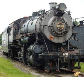 PRR H10 Consolidation 7688 in Railyard