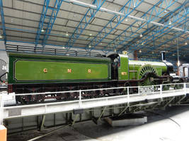 GNR Stirling Single 1 on NRM Turntable by rlkitterman