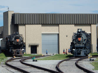 PRR K4 Pacific 3750 and M1 Mountain 6755